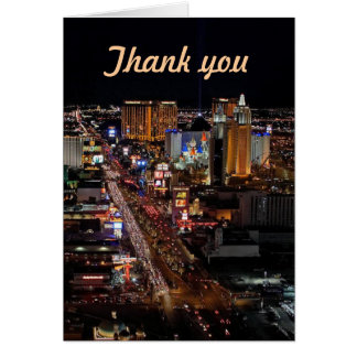 Thank you Las Vegas Cards