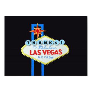 Thank You Las Vegas Events 4.5x6.25 Paper Invitation Card