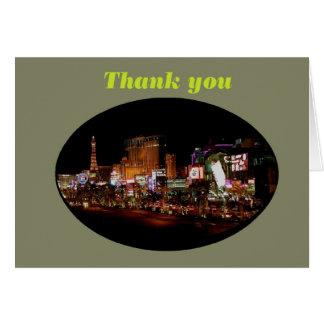 Thank you Las Vegas Strip Cards