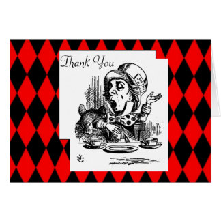 Thank You Mad Hatter Card