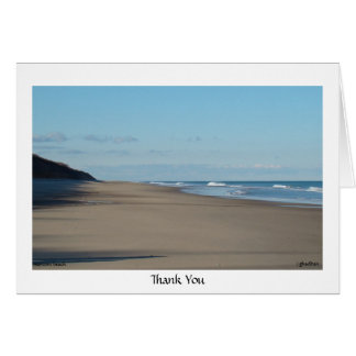 Thank You - marconi beach Card
