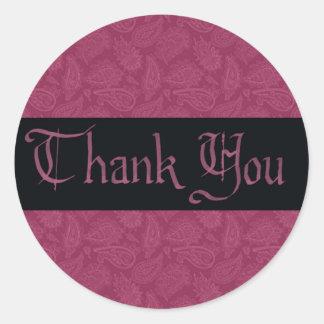 Thank You Masquerade Sticker
