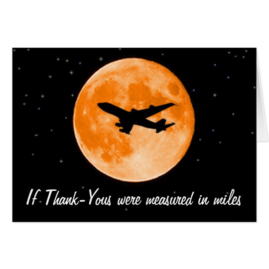 Thank You Measured In Miles Card