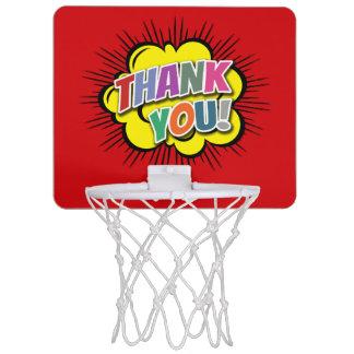 Thank You Mini Basketball Hoop