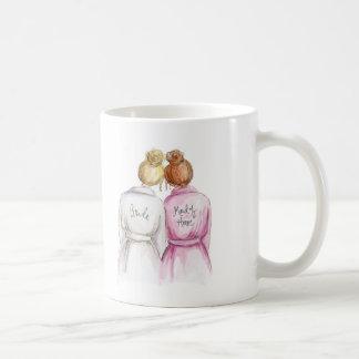Thank You MOH Blonde Bun Bride R Bun Classic White Coffee Mug