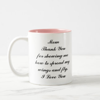 Thank You Mom coffee mug