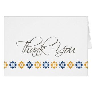 Thank You mosaic Card