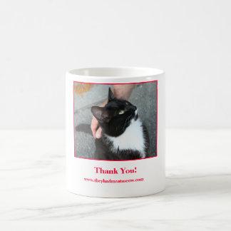 Thank You Mug. Coffee Mug