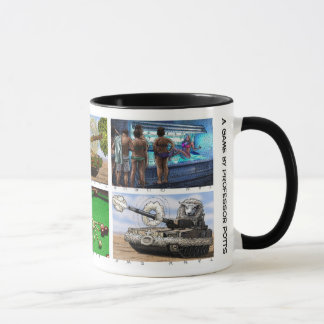 Thank You Mug with 6 different rebus illustrations