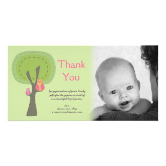Thank You New Baby Arrival Gift Photocard Card