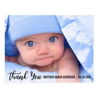 Thank You New Baby Modern Postcard