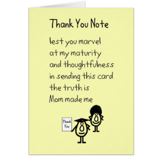 Funny Thank You Note Gifts - Funny Thank You Note Gift Ideas on ...