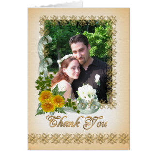 Thank you note Card for picture