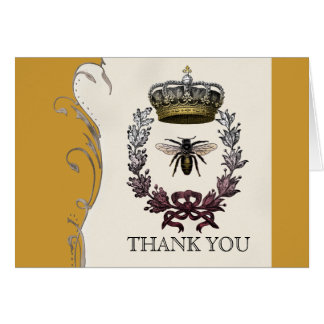 Thank You Notes - Queen Bee Royal Wedding