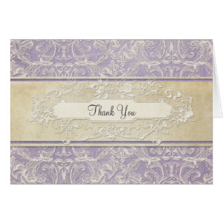 Thank You Notes Vintage French Regency Lace