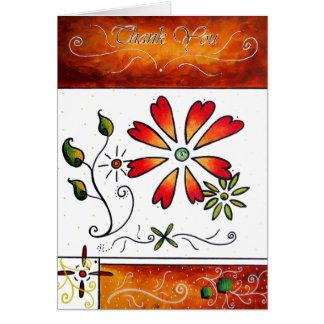 Thank You Original ArT Design by MADART Card