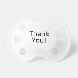 Thank You Baby Pacifier