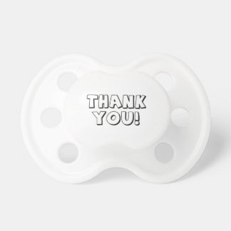 Thank You Baby Pacifiers