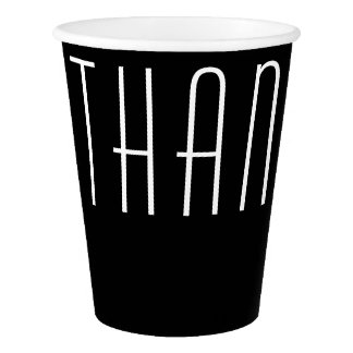 Thank You Paper Cup
