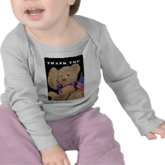 Thank You Patriotic Teddy Bear T Shirts