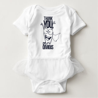thank you pct obvious cool design baby bodysuit
