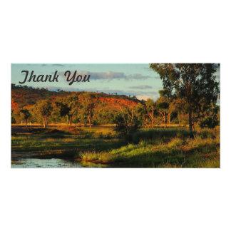 Thank You photo card - Dajarra
