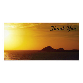Thank You photo card - Keppel Bay sunrise