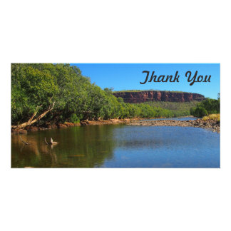 Thank You photo card - Victoria River