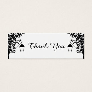 Thank You Photo Cards for Favor and Gift Bags