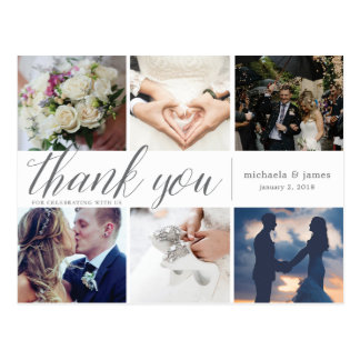 Thank You Photo Collage Card