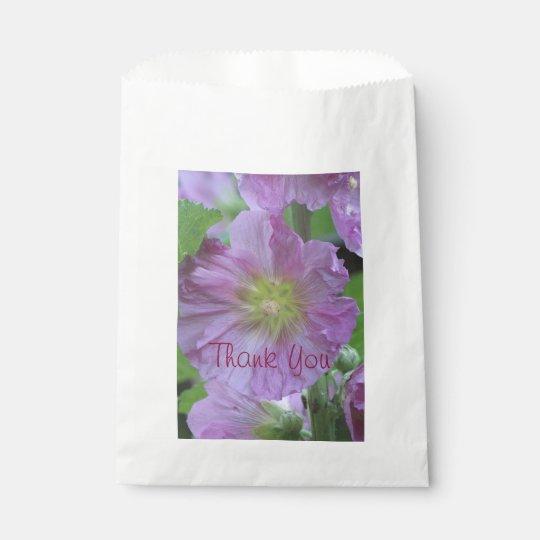 Thank You Pink Favour Bag