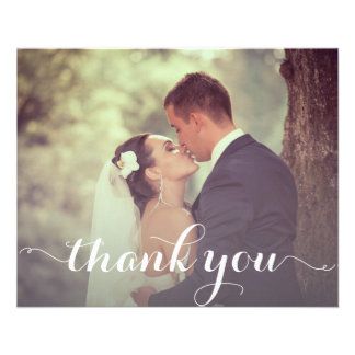 Thank You Postcard Template Full Color Flyer