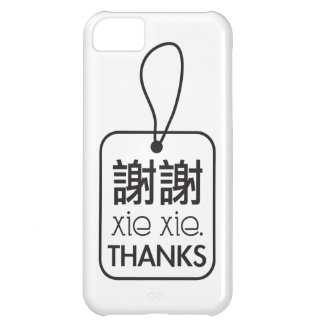 Thank you Print Cover For iPhone 5C