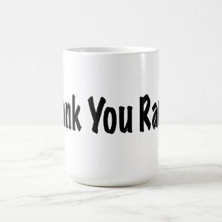 Thank You Rachel Coffee Mug