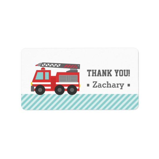 Thank You, Red Fire Truck