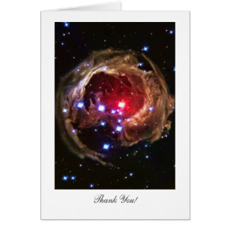 Thank You - Red Supergiant Star Monocerotis Card