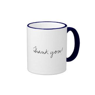 Thank you! ringer coffee mug