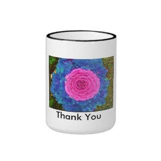 thank you ringer coffee mug