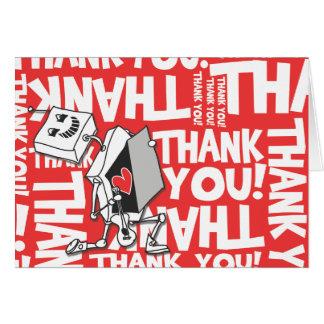 Thank you Robot Card
