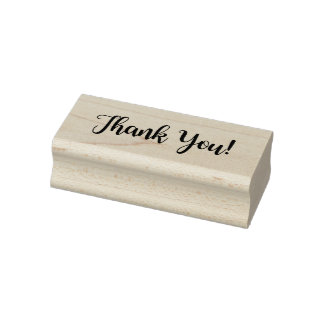 """Thank You"" Rubber Stamp"