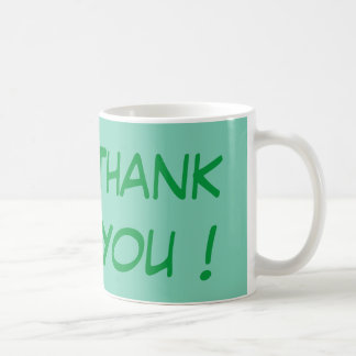 Thank You - Simple Yet Meaningful Classic White Coffee Mug