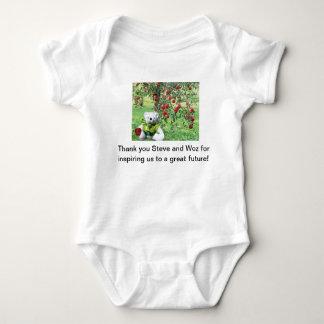 Thank you Steve and Woz Baby Bodysuit