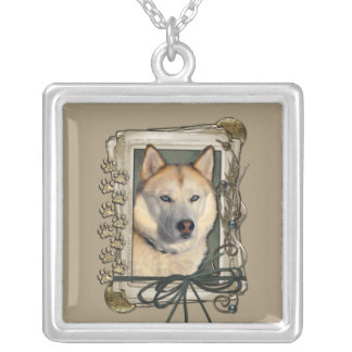 Thank You - Stone Paws - Siberian Husky - Copper Necklaces