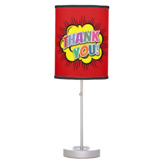 Thank You Table Lamp