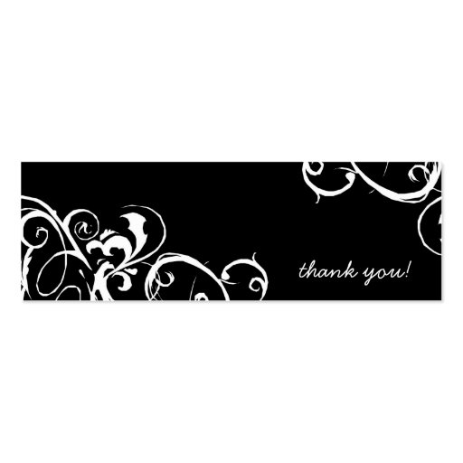 Thank You Tags Business Card Templates