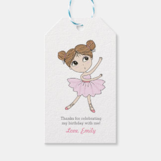 Thank you tags   Favour tags   Ballerina