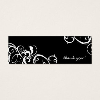 Thank You Tags Mini Business Card
