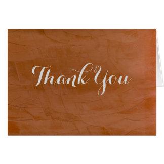 Thank You Tangerine 2.0 Card