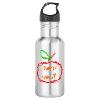 Thank You Teacher 532 Ml Water Bottle