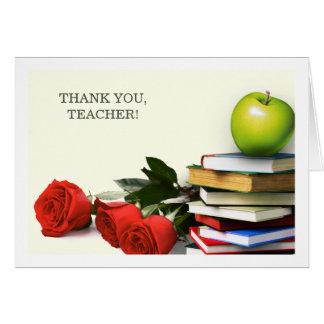 Thank You, Teacher. Custom Greeting Cards